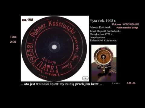POLONEZ KOSCIUSZKI Polish National songs VTS 01 1