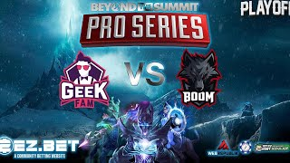 GeekFam vs Boom Esports |  Bo3 | BTS Pro Series: Southeast Asia PLAY-OFF