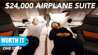 New $24,000 Singapore Airlines First-Class Suite - Video Youtube