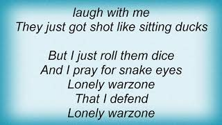 Armored Saint - Warzone Lyrics