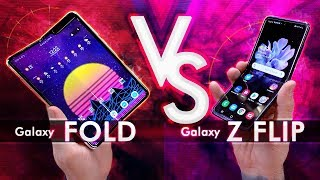 Samsung Galaxy Z Flip vs Samsung Galaxy Fold - Which Is Better?