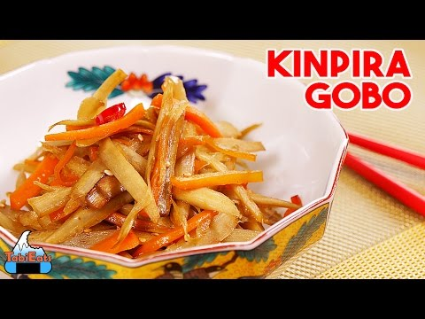 Kinpira Gobo Recipe (Japanese Stir-Fry Burdock Root Recipe)