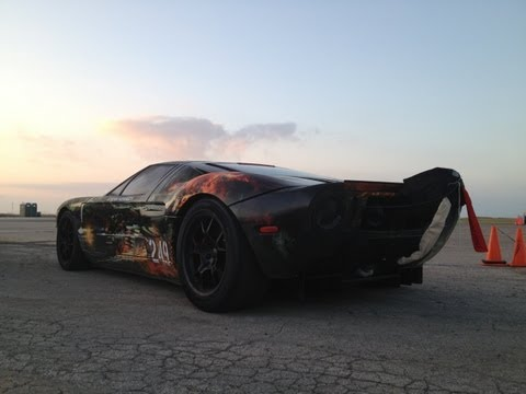 257.7 MPH Ford GT Standing Mile World Record
