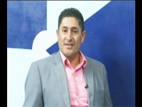 O vereador Márcio do Sitetuperon fala dos ônibus de PVH, na SICTV - Gente de Opinião