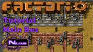 Factorio Tutorial   4. Main Bus