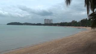 preview picture of video 'Port Dickson Beach in Malaysia'
