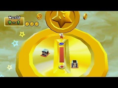 Newer Super Mario Bros. Wii: Summer Sun Walkthrough Part 5 - World 9 (All Star Coins + Final Level)