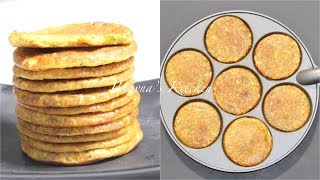 Quick Jowar Pudas or Chillas - Milo flour Savory Pancakes Video Recipe | Bhavna's Kitchen