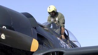 Grumman F8F Bearcat Visits Livermore, CA