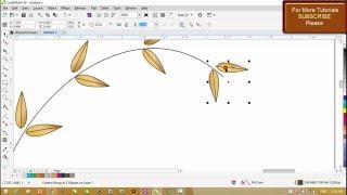 Corel Draw X8 Tutorials - Use of Blend Command