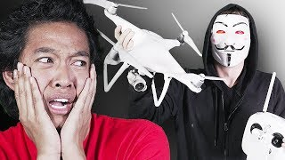 Hacker DRONE ATTACK *HELP*