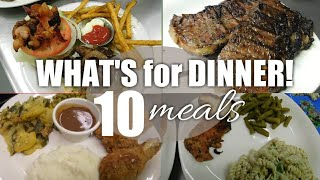 10 Budget friendly meal ideas | What we eat for dinner | Easy dinner ideas.