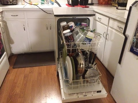 18″ Compact Portable Dishwasher Setup and Demo – Kenmore Review