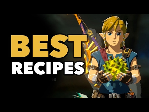 Video The Very Best Recipes for Combat, Stamina, and Even Rupees - Zelda: Breath of the Wild