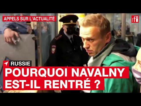 Russie : pourquoi a-t-il pris le risque de rentrer dans son pays ? Russie : pourquoi a-t-il pris le risque de rentrer dans son pays ?