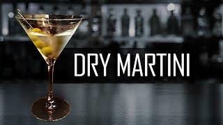 ¿Cómo Hacer Un Clásico DRY MARTINI?🍸