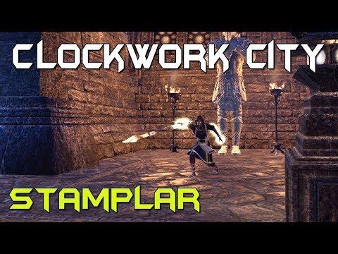 stamplar pvp build elder scrolls online clockwork city elder