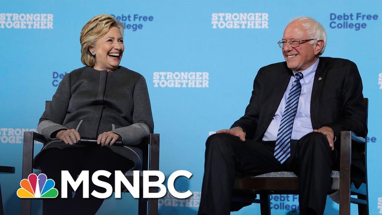 Bernie Sanders, Hillary Clinton Make Pitch To Millennial Voters | MSNBC thumbnail