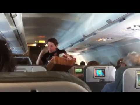 JetBlue Airways A320 Seat 8C Aisle seat review
