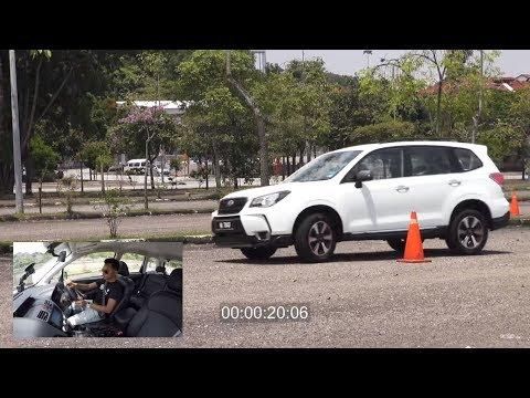 Subaru Forester vs Satria Neo Autocross - Roda Pusing Khas