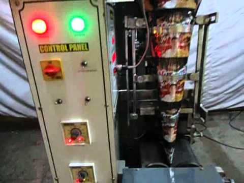 Automatic Paste Packing FFS Machine