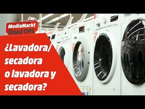 ¿Lavadora secadora o lavadora y secadora? ¿Qué es mejor?