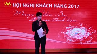 Hội nghị khách hàng Elmich Hải Phòng 2017 - MC Văn Minh