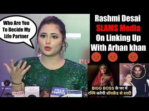 Rashmi Desai SLAMS 😡 Media | No Marriage With Arhaan khan Says Rashmi Desai