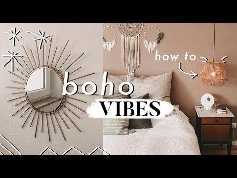 Neue Lampen aufhängen - Boho Vibes im Schlafzimmer   MANDA Vlog