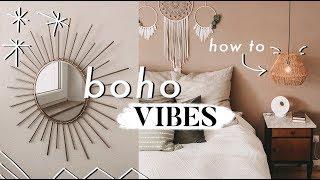 Neue Lampen aufhängen - Boho Vibes im Schlafzimmer | MANDA Vlog