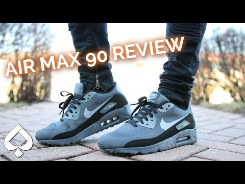 Nike AIR MAX 90 Ultra Essential REVIEW and On Feet!