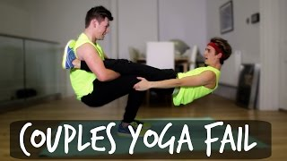 COUPLES YOGA FAIL | ThatcherJoe
