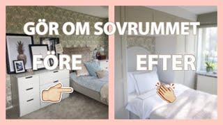 INREDNING: Smart Förvaring I Sovrum, Före Och Efter, Garderober