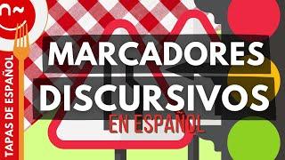 Marcadores discursivos. ProfeDeELE.es