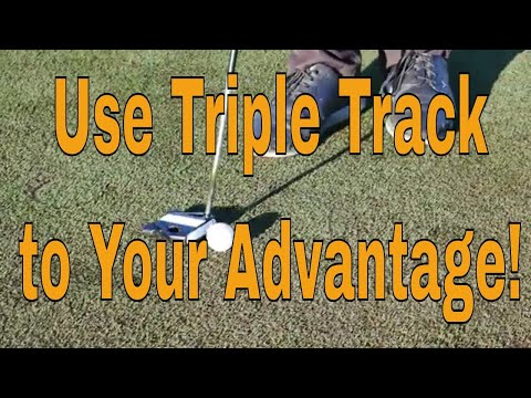 Golf Video Tips, Using Vernier Hyper Acuity to Improve Your Putting
