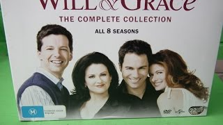 P70619 - Will & Grace :Complete Collection (DVD, 32-Disc Set) ALL 8 Seasons.In Box-As New