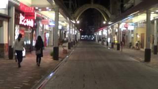 土曜の夜の古町新潟市中央区