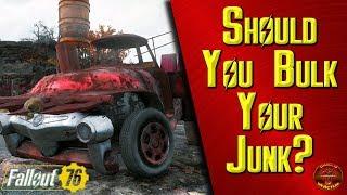 Fallout 76: Should You Bulk Your Junk???