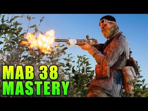 MAB 38 Mastery - Getting Gold! | Battlefield V