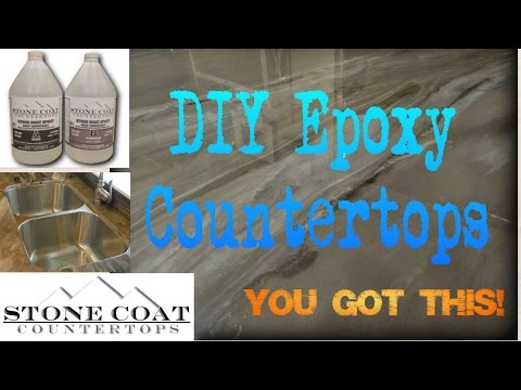How to make Epoxy Countertops