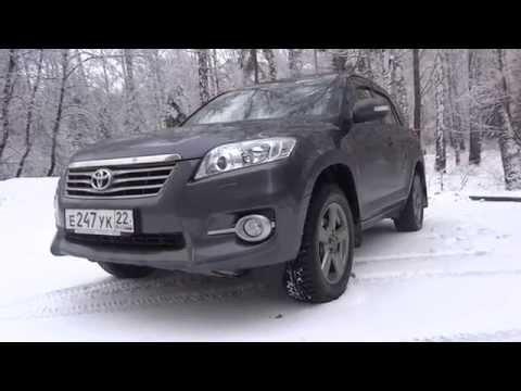 Фото к видео: Тест - Обзор Toyota RAV4 3 поколения 2.0 CVT