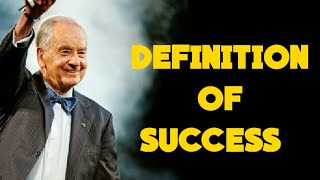 Definition of success / success for dummies by zig ziglar , A motivational speech