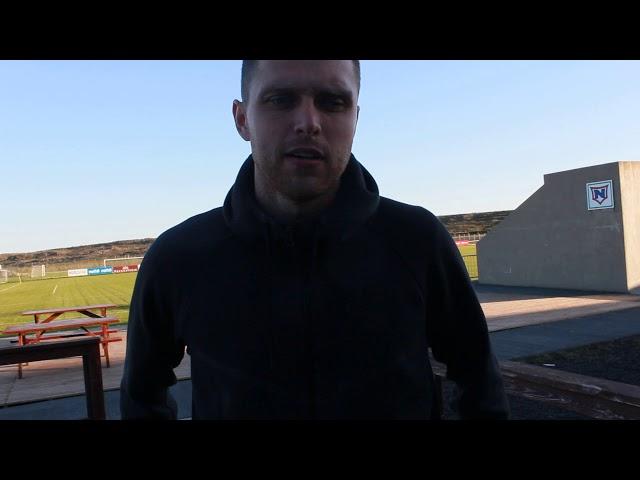 Rafn Markús: Ég held að jafntefli hafi verið sanngjarnt