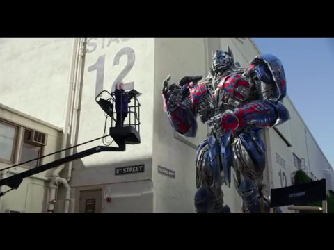 Transformers: The Last Knight (Viral Video 'Optimus Prime Dialogue Coach')