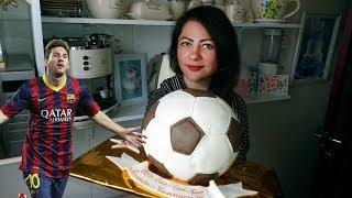 Торт на 18 лет! Футбольный мяч  / Cake for 18 years! Soccer ball