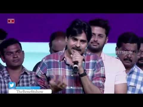Power Star Pawan Kalyan Speech in 'Chal Mohan Ranga' Pre-Release Event