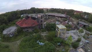 KROZone FPV Freestyle, cinematic drone flying in Blub, Berlin, abandoned water park.17/06/2020