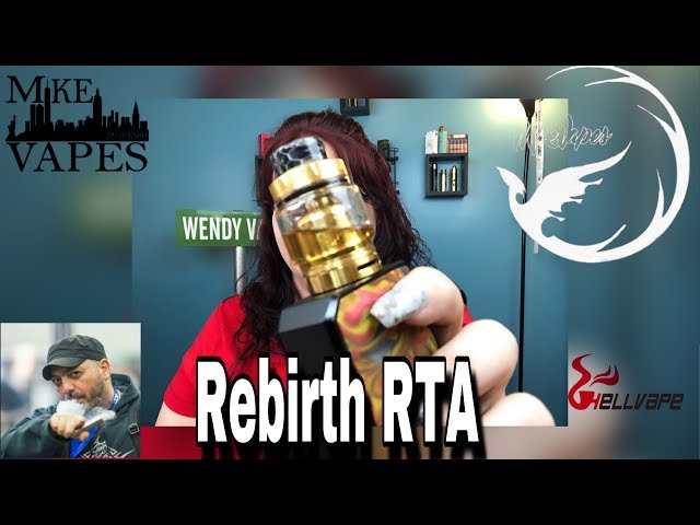 Rebirth RTA | Mike Vapes & HellVape