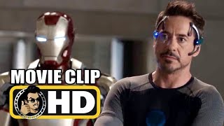 IRON MAN 3 (2013) Movie Clip - Tony Stark & Pepper Scene | Robert Downey Jr. Marvel Studios HD