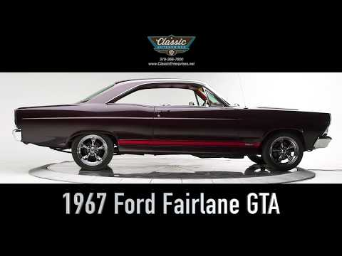 Download 1967 Ford Fairlane GTA For Sale - Startup & Studio Shoot HD Mp4 3GP Video and MP3